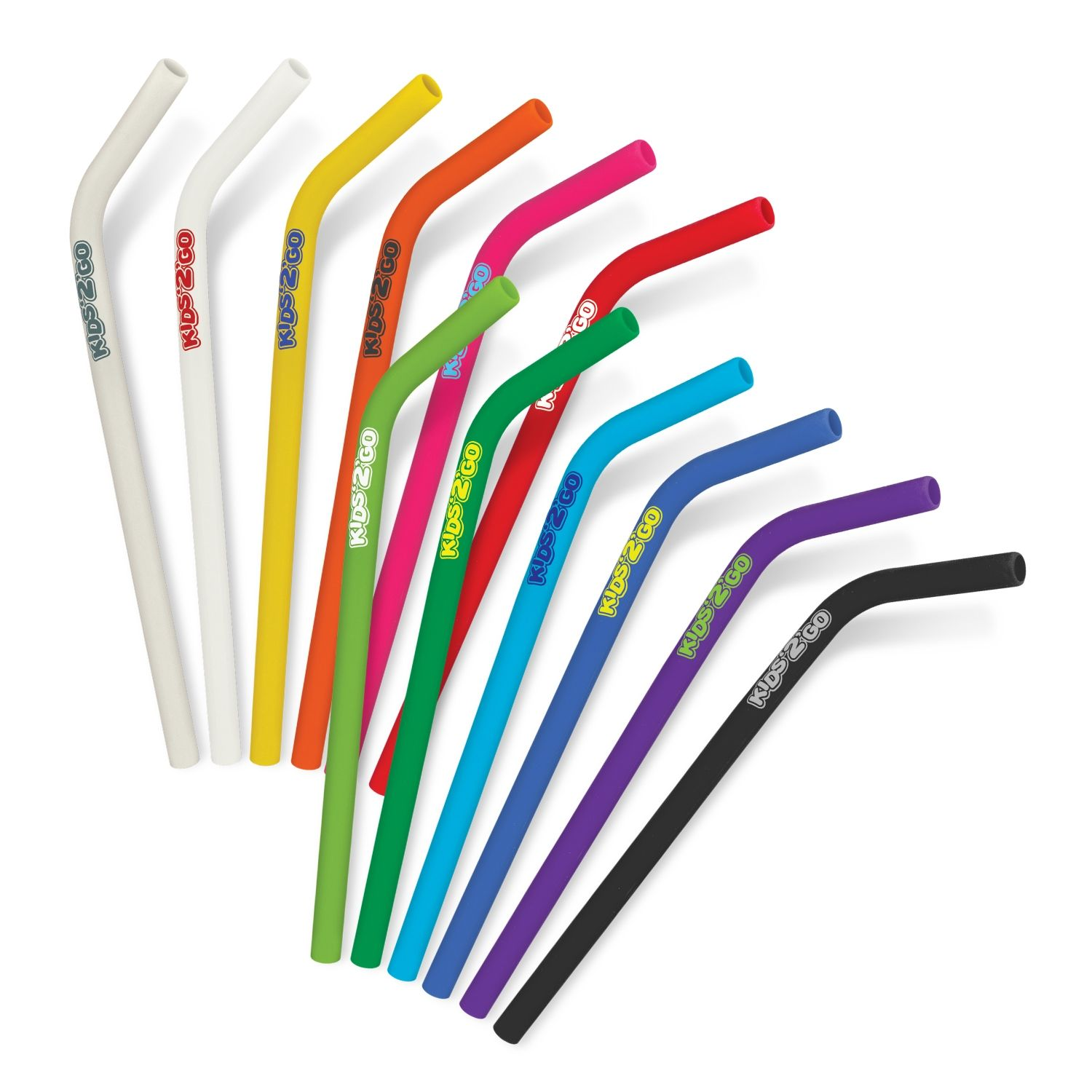 Trends Collection Silicone Reusable Drinking Straw
