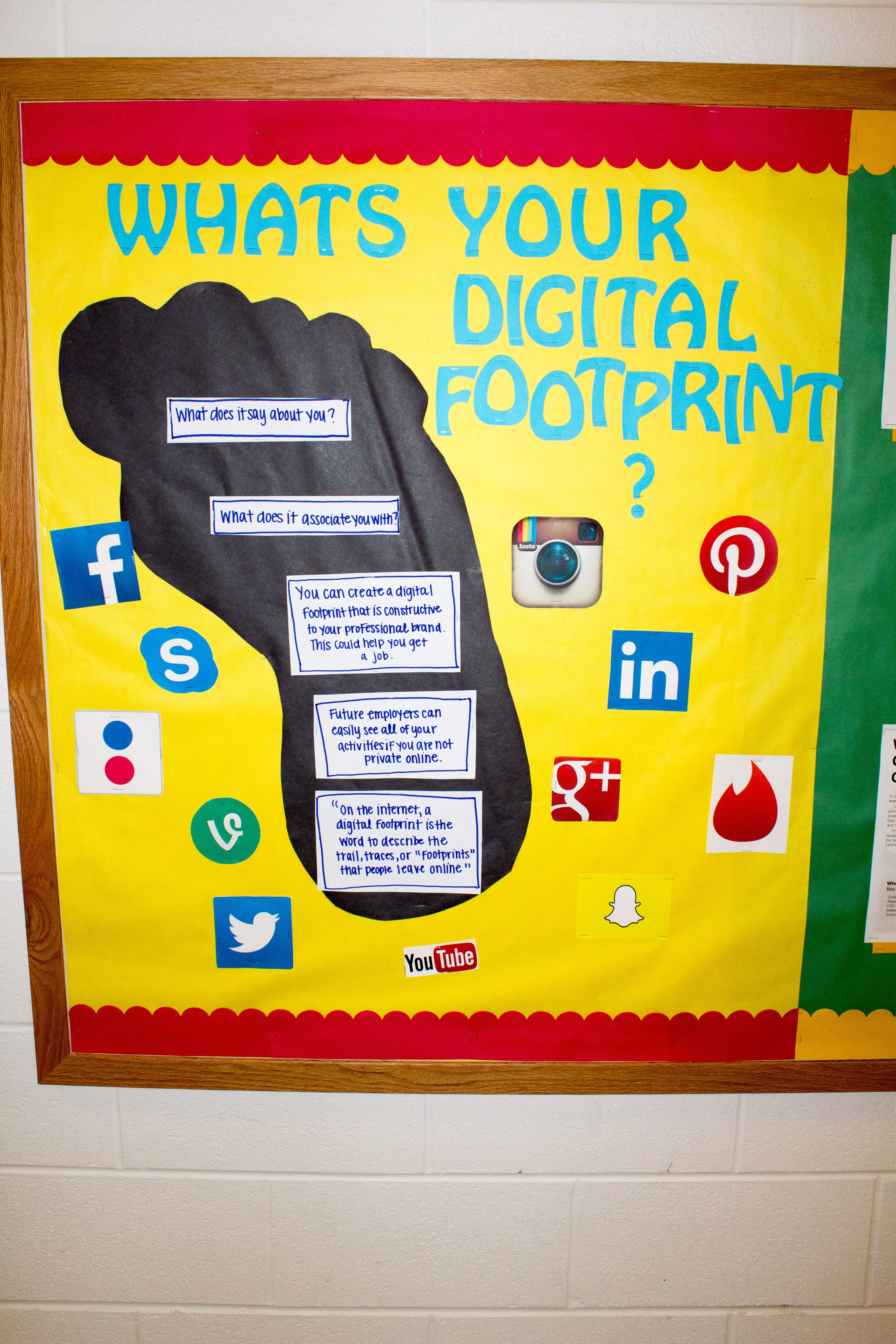 Digital Footprint Bulletin Board Oakland