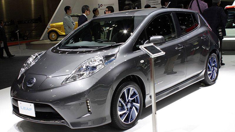 Nissan Leaf Aero Style Wears New Body Kit In Japan Nissan Leaf Nissan Hybrid Car