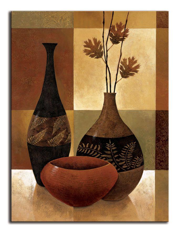 Jarrones pinturas buscar con google cacharros for Laminas de cuadros modernos