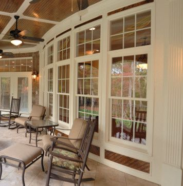 Triple Double Hung Windows With Transoms Wood