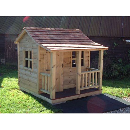 The Langley Play House With Cedar Shingle Roof 6ft X 6ft