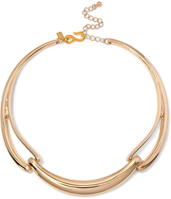 Gold-tone Necklace - one size Kenneth Jay Lane PlrnXld