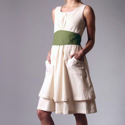 Gina Michele's organic cotton dress. I love a functional (see ...