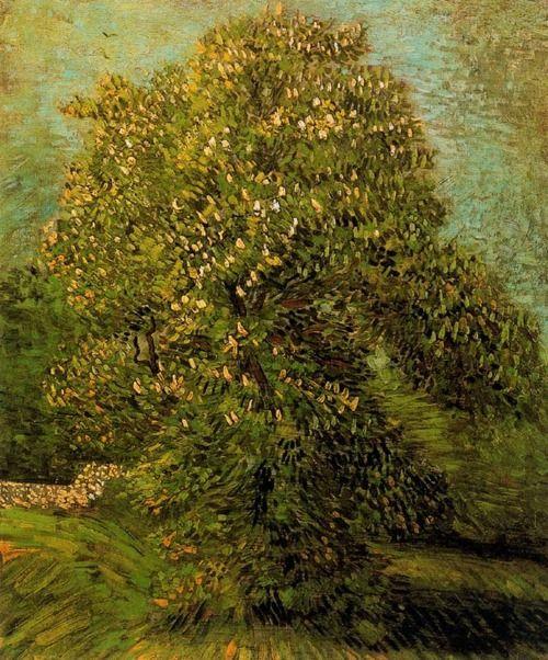 """Vincent Van Gogh    """"Castaño en flor"""""""