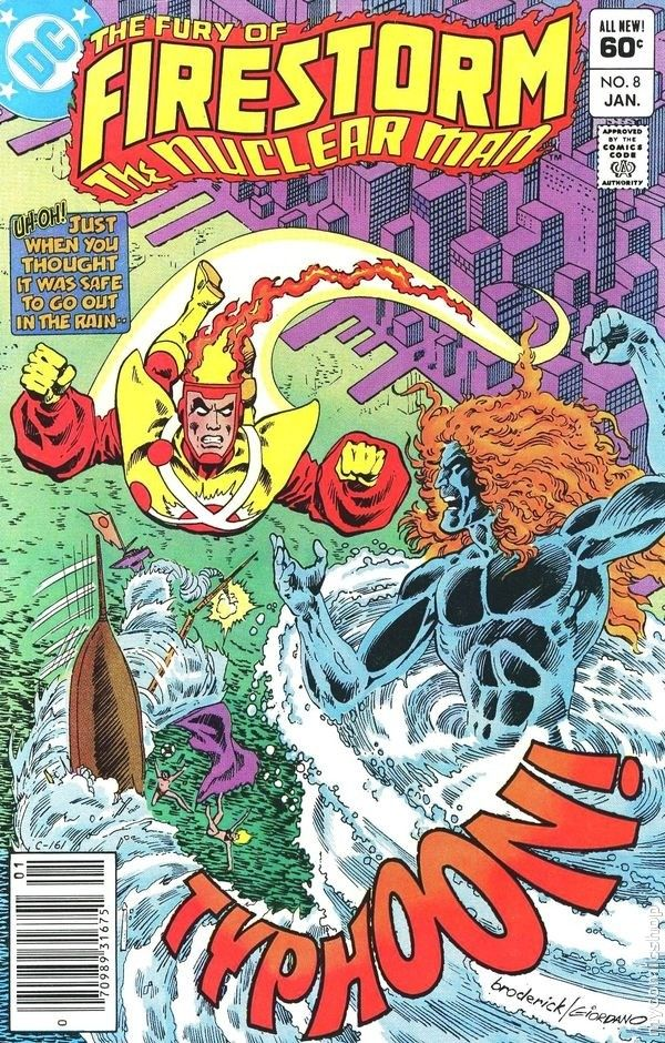 THE FURY OF FIRESTORM THE NUCLEAR MAN 8, DC COMICS