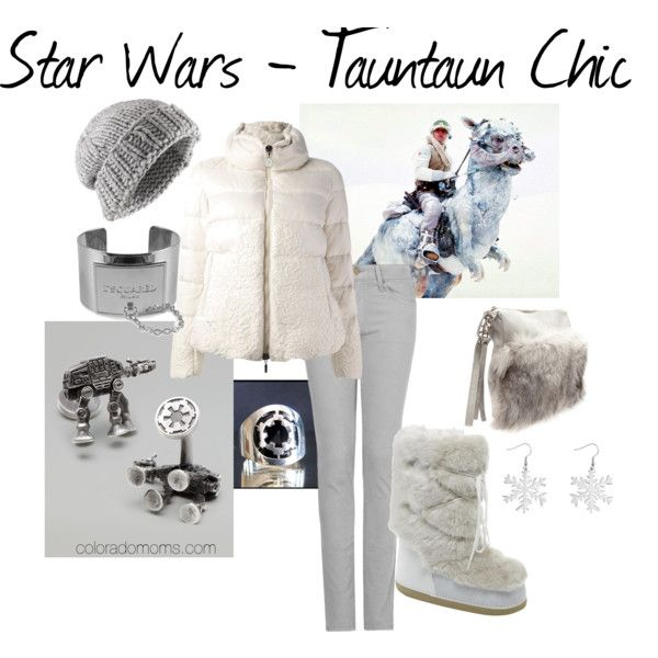 This makes me so incredibly happy I cant even say!!!!!! Star Wars - Tauntaun Chic....