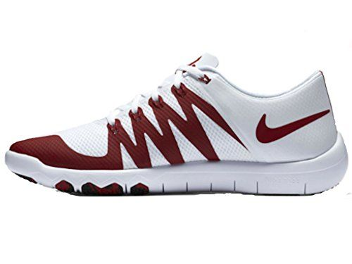 Nike Free Trainer 50 V6 AMP University of Oklahoma Sooners Mens Training  College Shoes 723939101 14 DM US WhiteTeam CrimsonBlack -- Learn more by  visiting ... 4c3386bdc