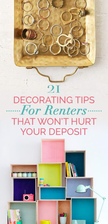21 Cheap And Easy Decorating Tricks For Renters images