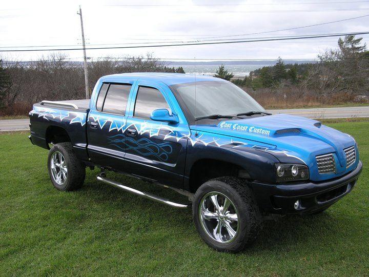 eastcoastcustomcars 2004 dodge dakota radical alteration Custom Auto Paint Gallery