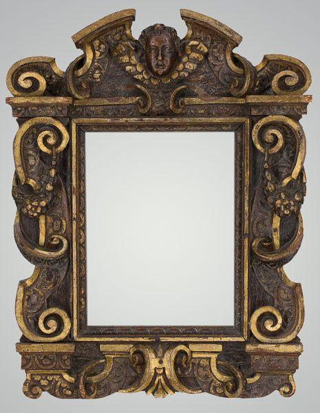 Rare Italian Sansovino Antique Frame. Rare decorative art