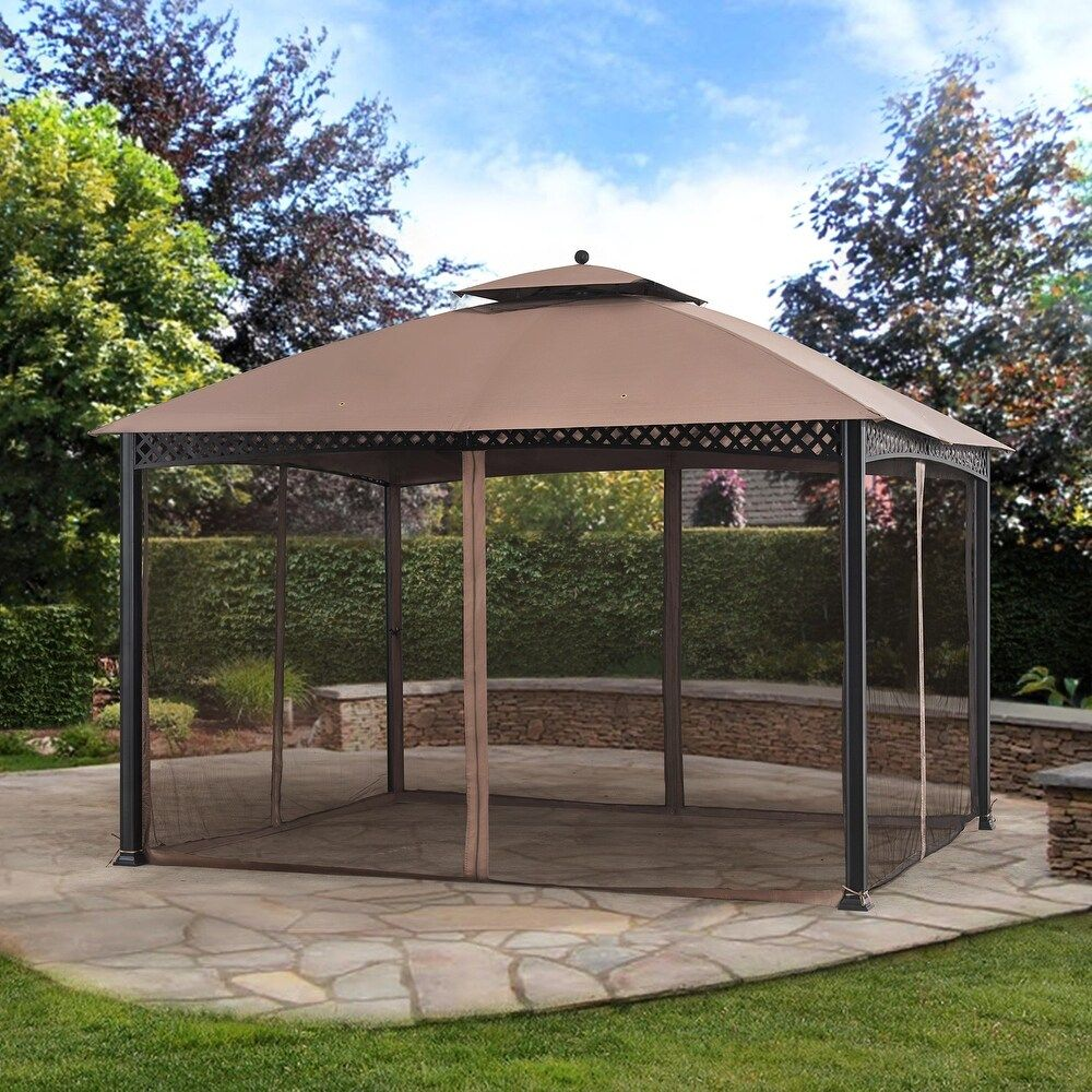 Overstock Com Online Shopping Bedding Furniture Electronics Jewelry Clothing More In 2020 Gazebo Concrete Patio Backyard Gazebo
