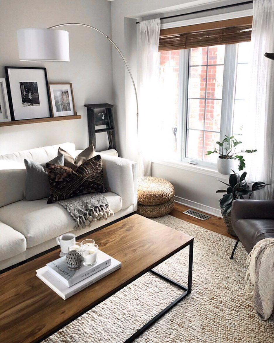 Modern Living Room Styling Neutral Living Room Rustic Modern Living Room Modern Rustic Living Room Couches Living Room Cute Living Room #rustic #living #room #couch