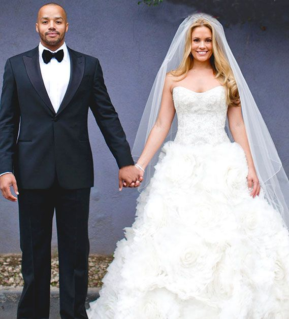 Cacee Cobb and Donald Faison Wedding Photos - Celebrity Bride Guide ...