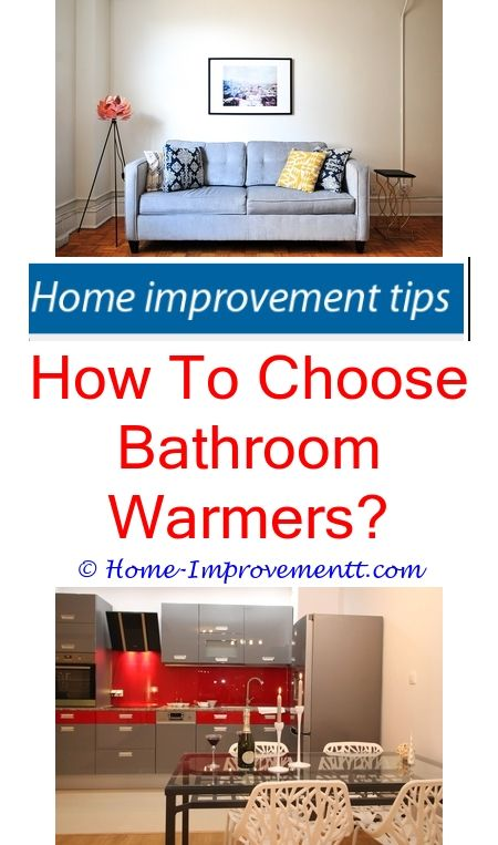 How To Choose Bathroom Warmers- Home Improvement Tips #74015