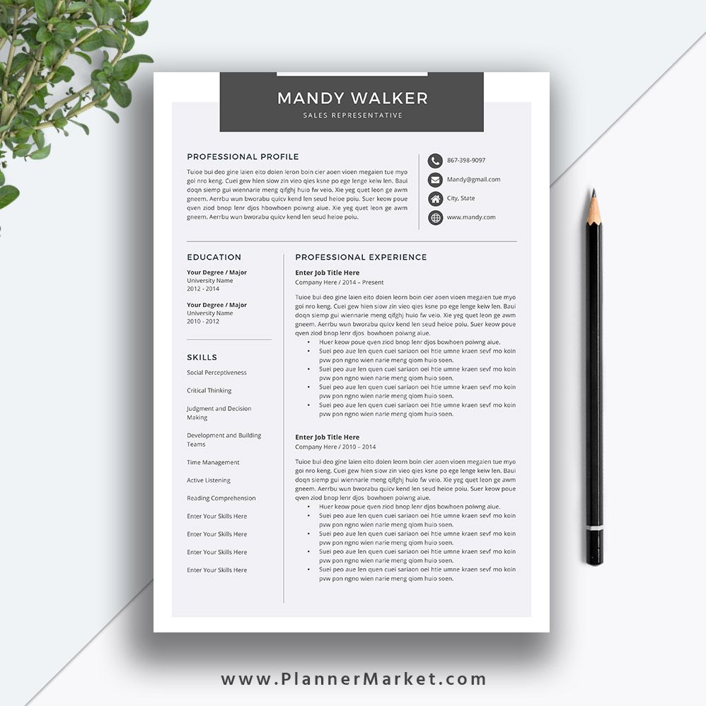 Clean Resume Template Cover Letter Ms Word Creative Cv Template Professional Resume Modern Wonderful Clean Resume Template Creative Cv Template Clean Resume