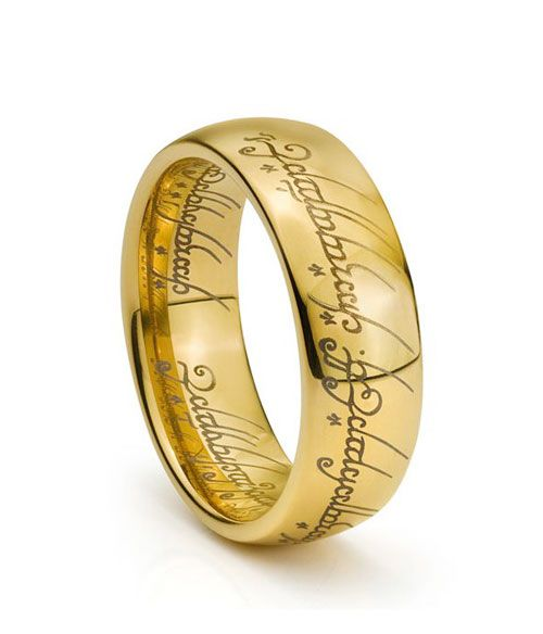 Lord Of The Rings Engagement Ring