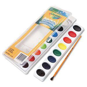 Crayola Washable Watercolor Set 4 90 Oz 16 Set Watercolor Paint Set Crayola Paint Set