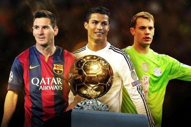 Caawa Iyo Abaalmarinta Ballon Da Or Messi C Ronaldo Manuel Neuer
