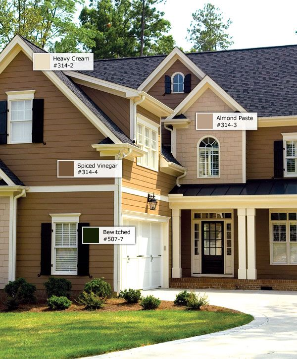 exterior color scheme | From the lush forests of the Pacific ...