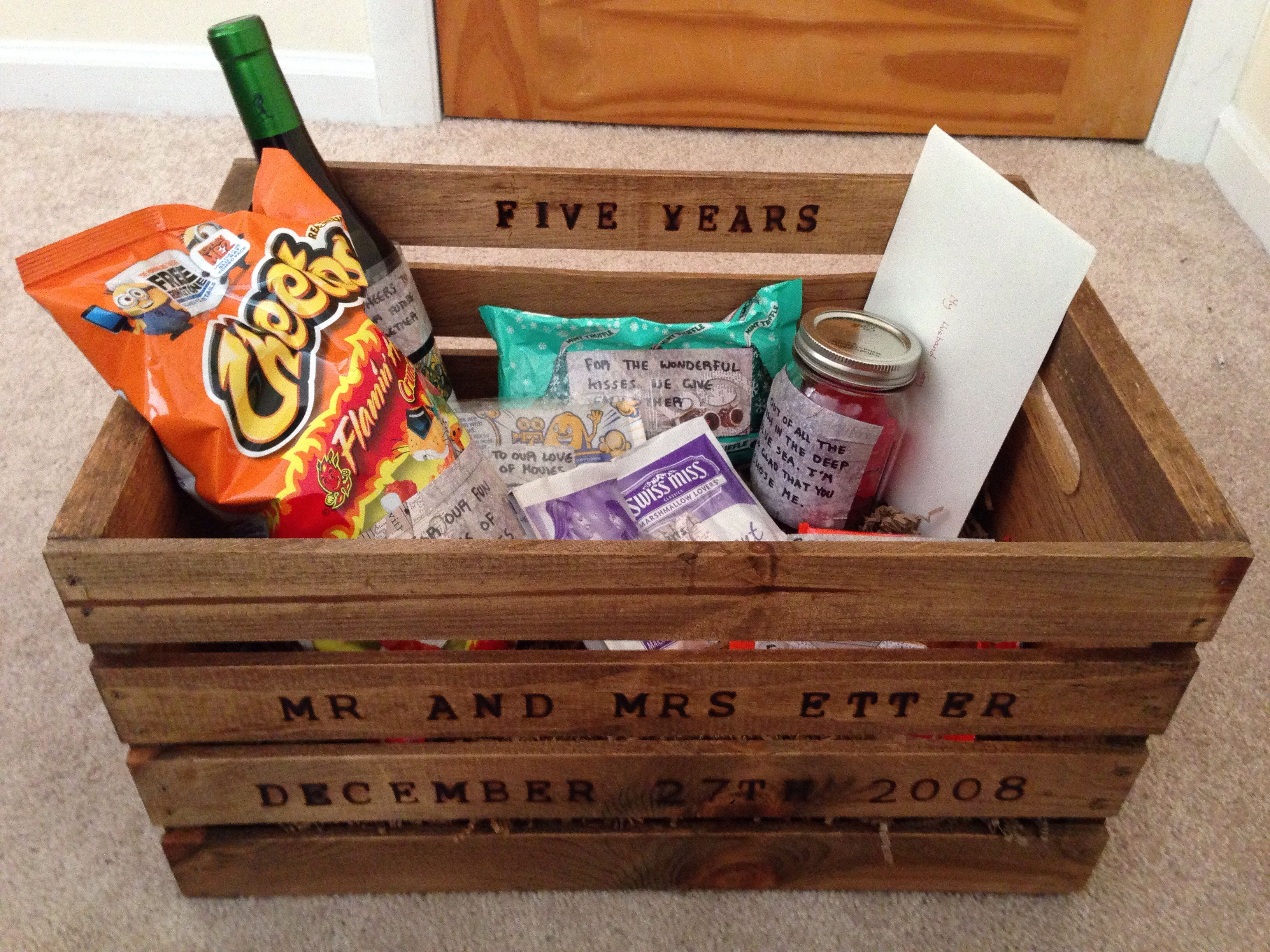 5 year anniversary gift for my husband love pinterest for 5 year anniversary decorations