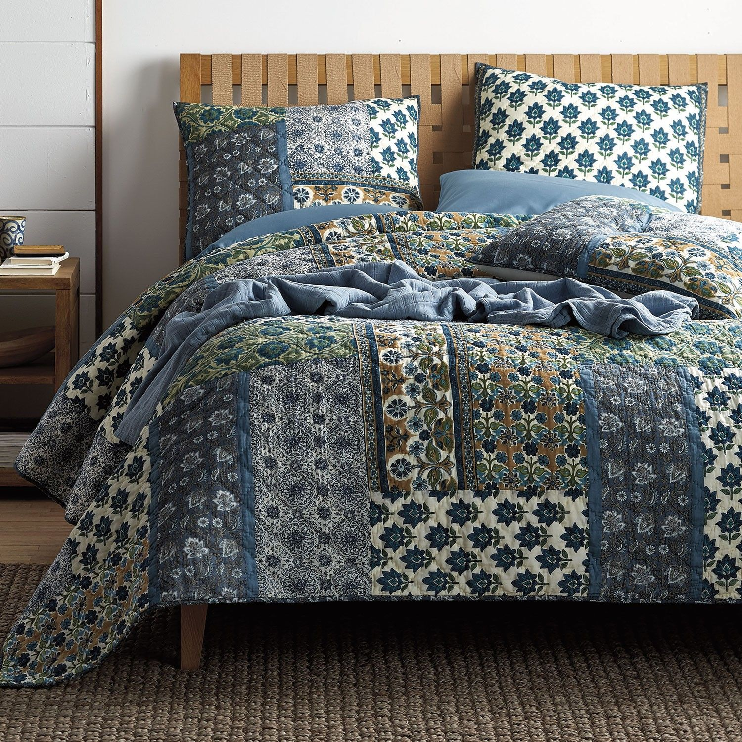 Padma Quilt, King   The Company Store | 2018   Bedroom Renovation