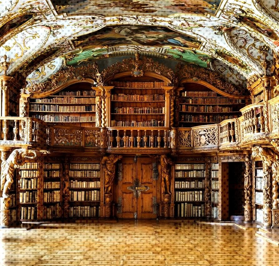bibliothecasanctus  Waldsassen Abbey Library in Bavaria Germany You can find Bavaria germany and more on our bliothecasanctus  Walds