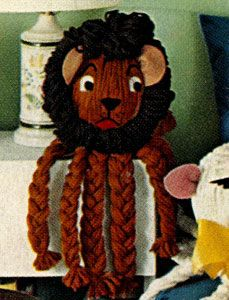 NEW! Lion Toy craft pattern from Fashions & Fun for the ...