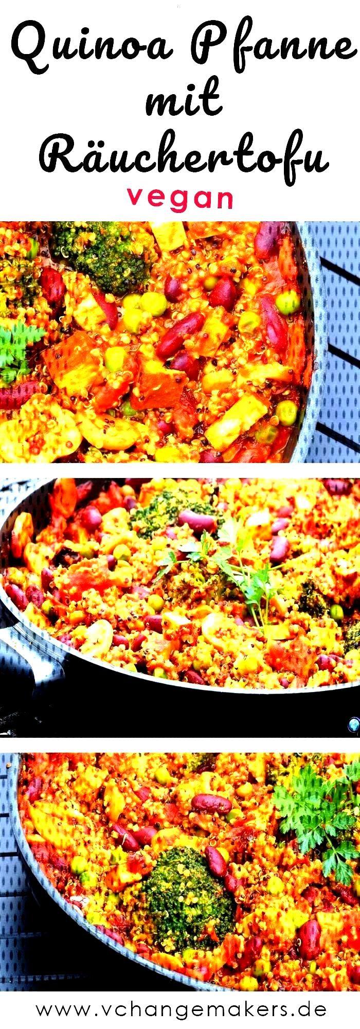 Rezept Nährstoffreiche Quinoa Pfanne mit Räu...