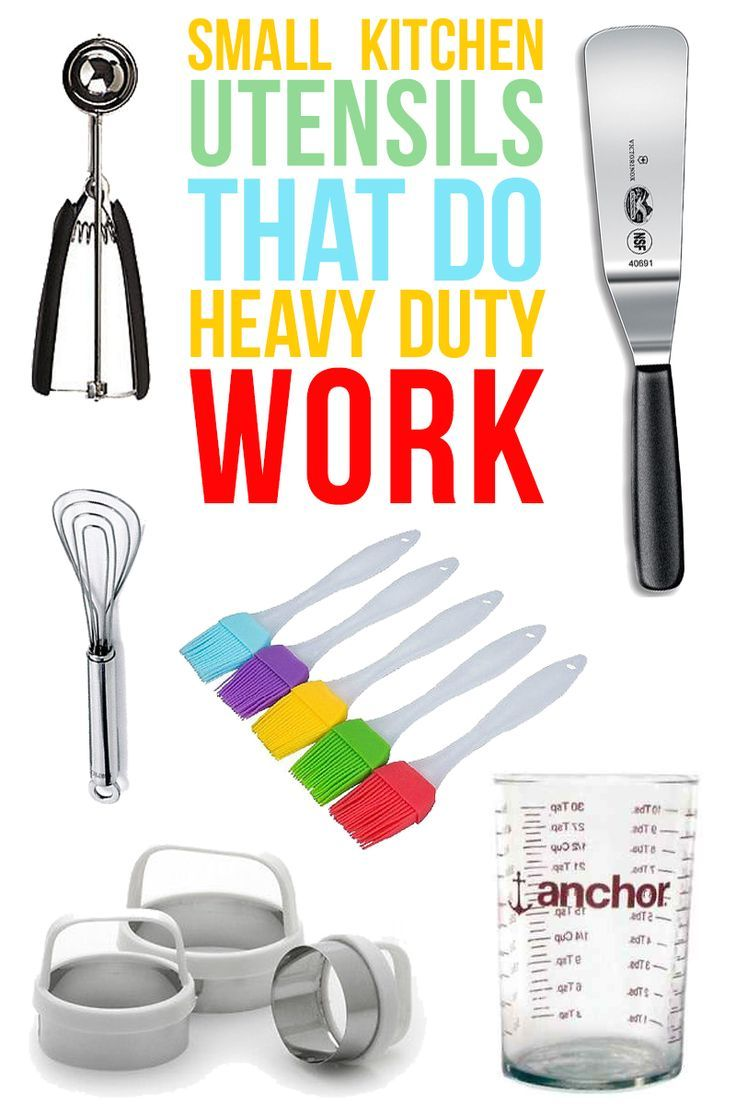 A list of the best SMALL kitchen utensils that you will use ...