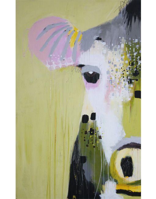 Bettina Holst Acrylic Painting Akryl Maleri