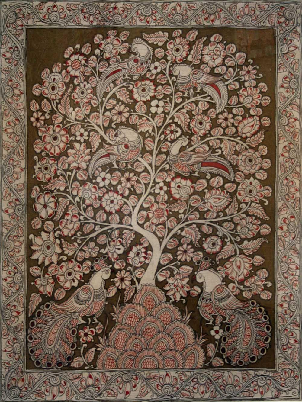 Kalamkari Wall Hangings Kalamkari Painting Pichwai
