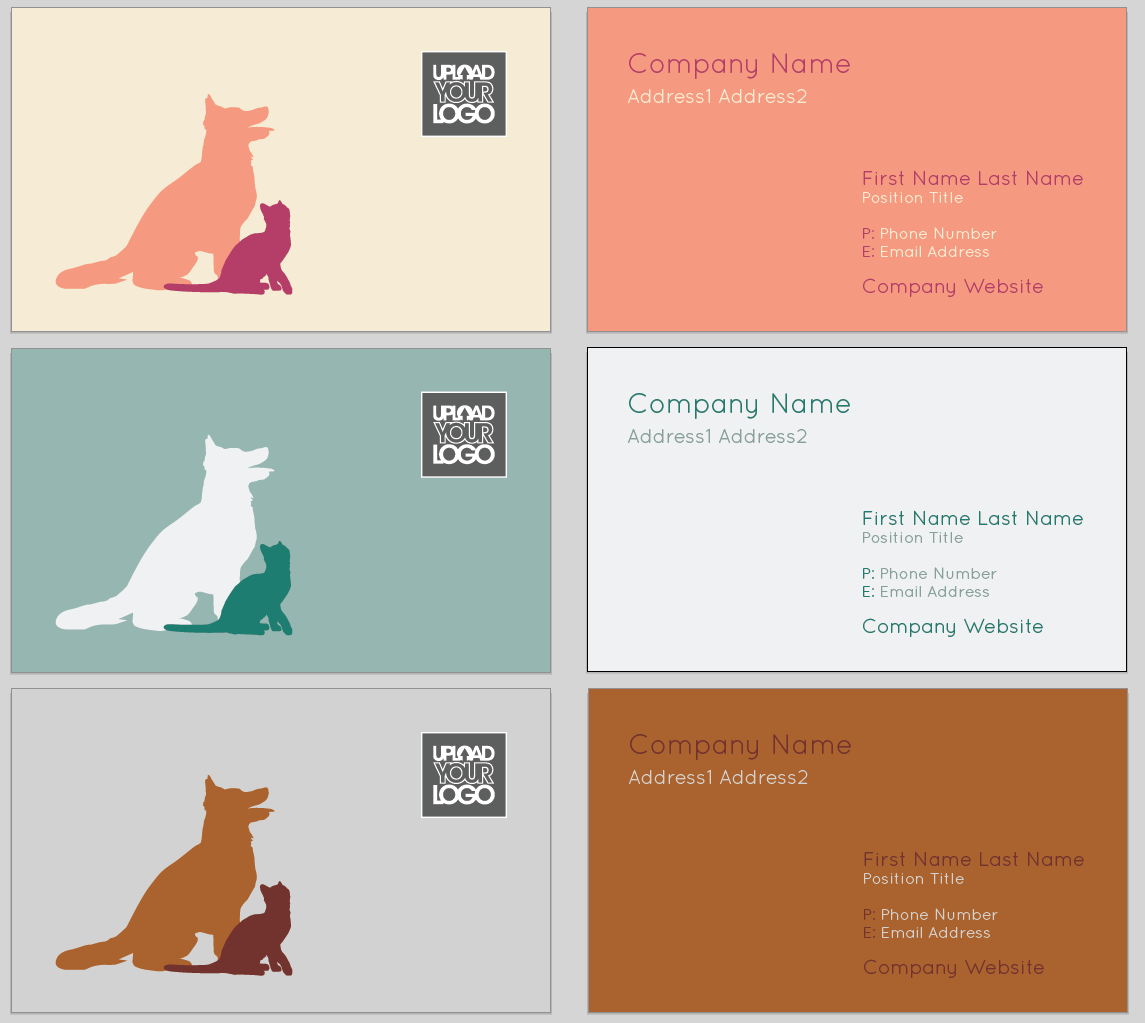 Furry Friends Business Card #Template | Design Tool Templates ...