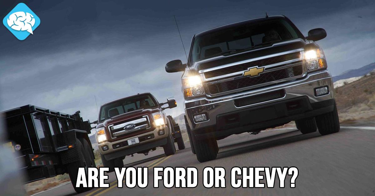 Ford Or Chevy >> I Am 37 Ford And 63 Chevy So Are You Ford Or Chevy Take