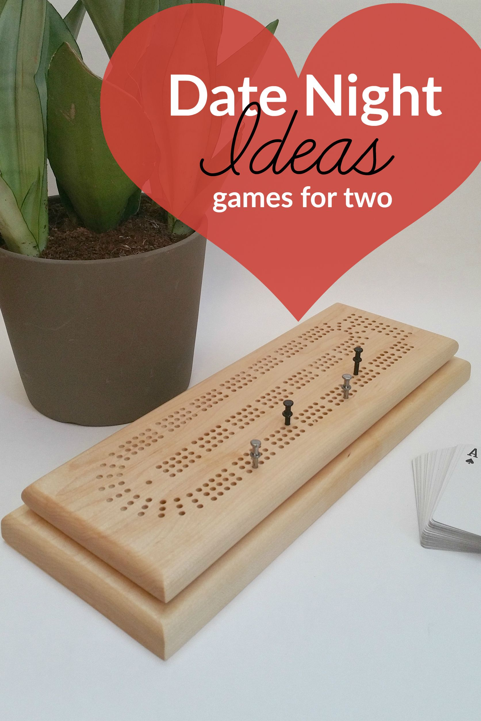 Custom cribbage board makes the perfect valentine's day
