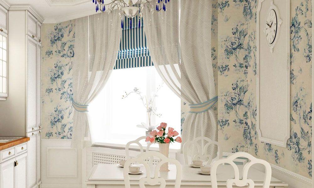 49 идей для пошива кухонных штор и занавесок (с ...