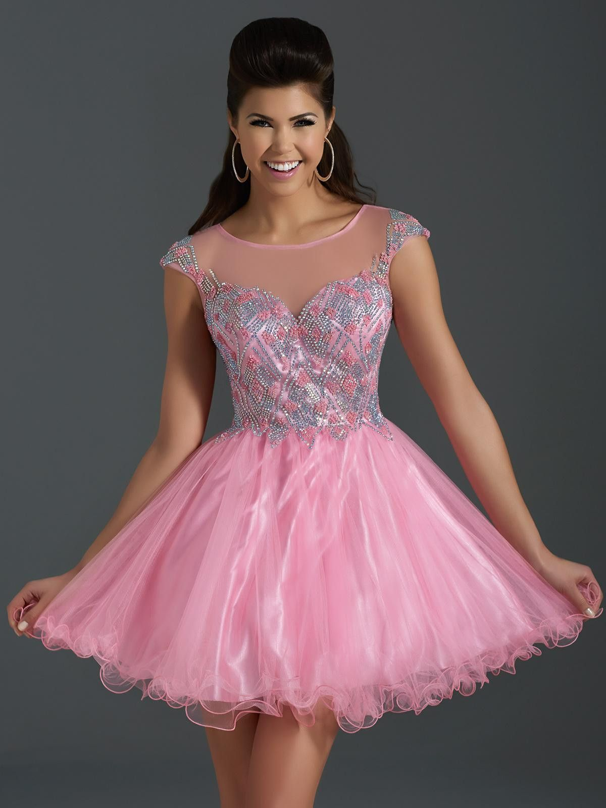 CLARISSE 2646 PINK HOMECOMING DRESS at Rsvp Prom and Pageant ...