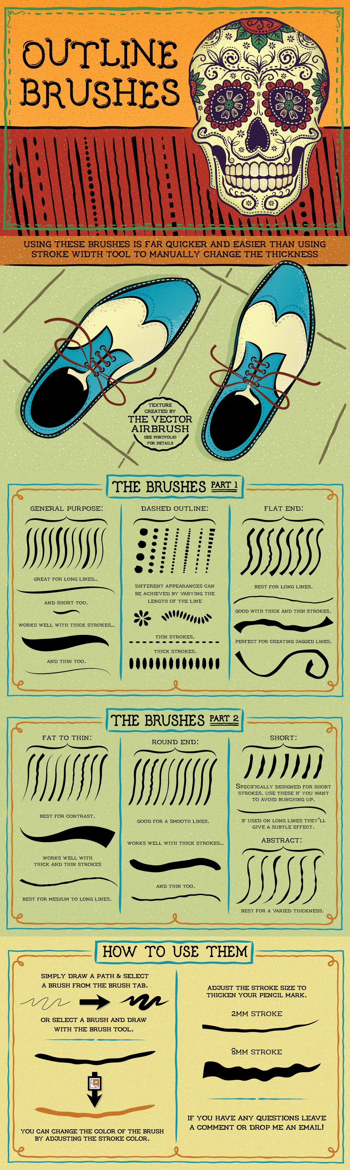Outline Brushes By Jrchild On