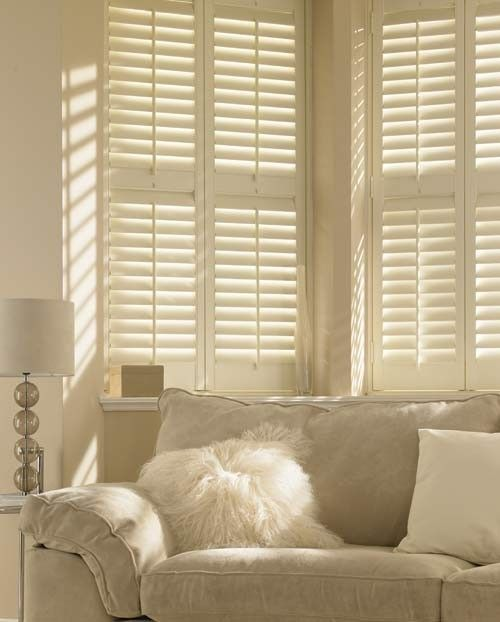 The term plantation shutters was given to these types of interior
