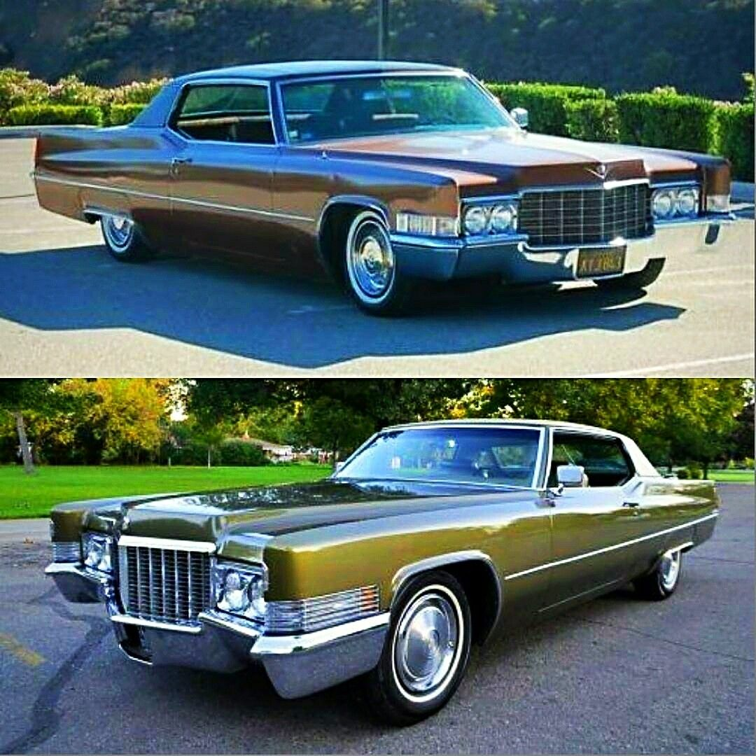 Custom Cadillac Deville For Sale: Cadillac Coupe DeVille 1969/70