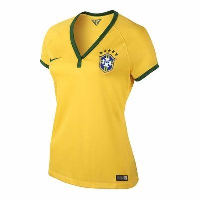 04d070dc0ad Nike Brazil 2014 Women s Home Jersey (XL only)