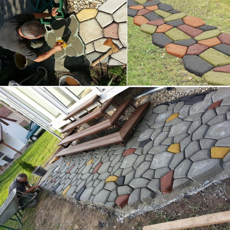 Discover Best Greenhouse Ideas Greenhousetour Homemade Mini Greenhouse Ideas In 2020 Concrete Garden Garden Paving Stepping Stone Molds