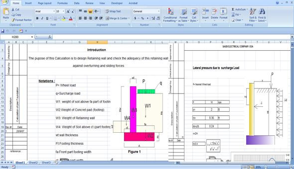 Download the Excel based calculation Sheets for creating the perfect