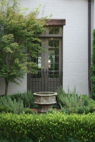 Trim Color Traditional Landscape Easy Landscaping Garden Design