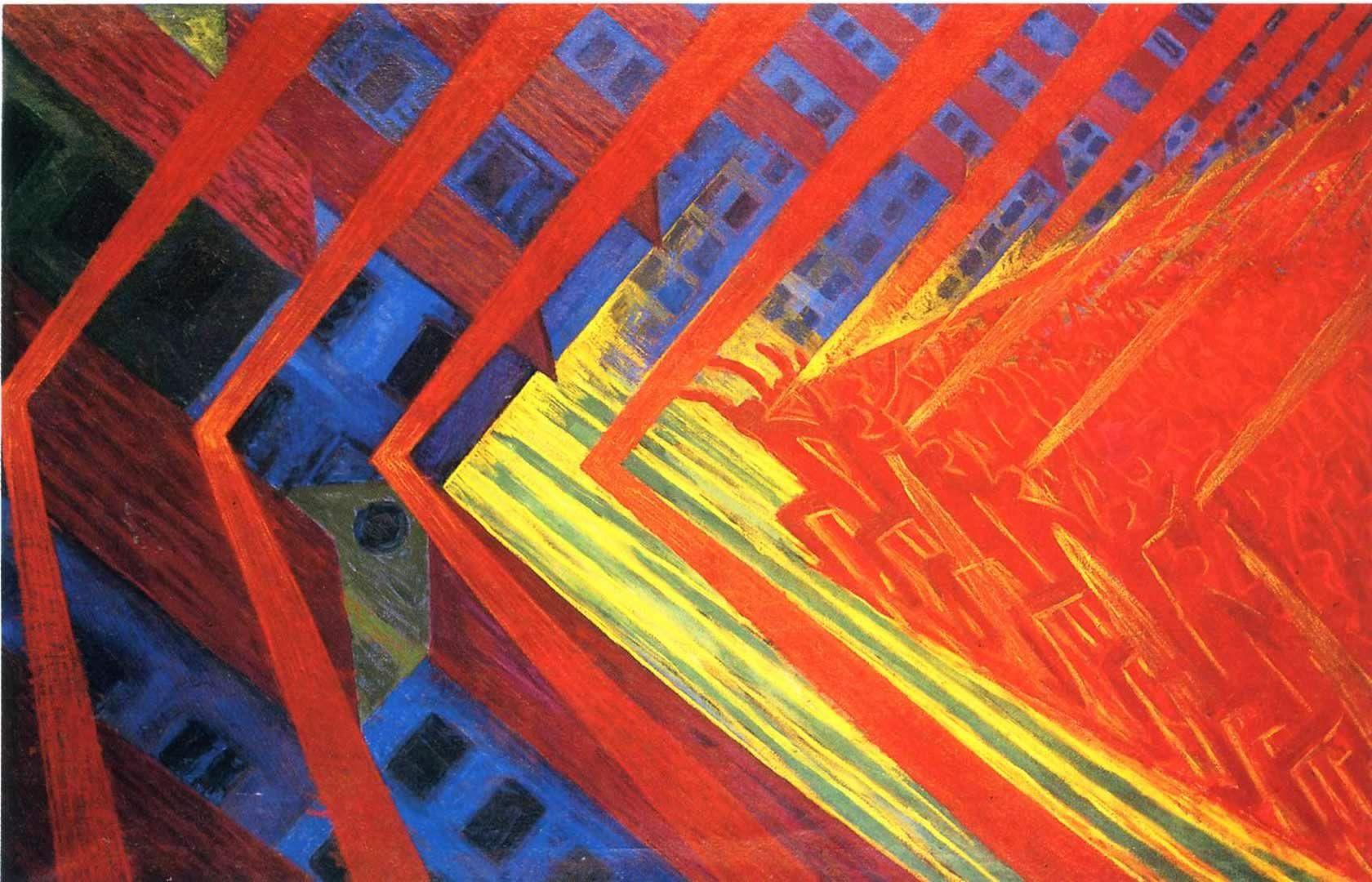 """The Uprising"" Luigi Russolo | Paintings | Pinterest ..."