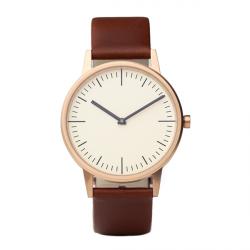 Uniform Wares Rose Gold Wrist Watch