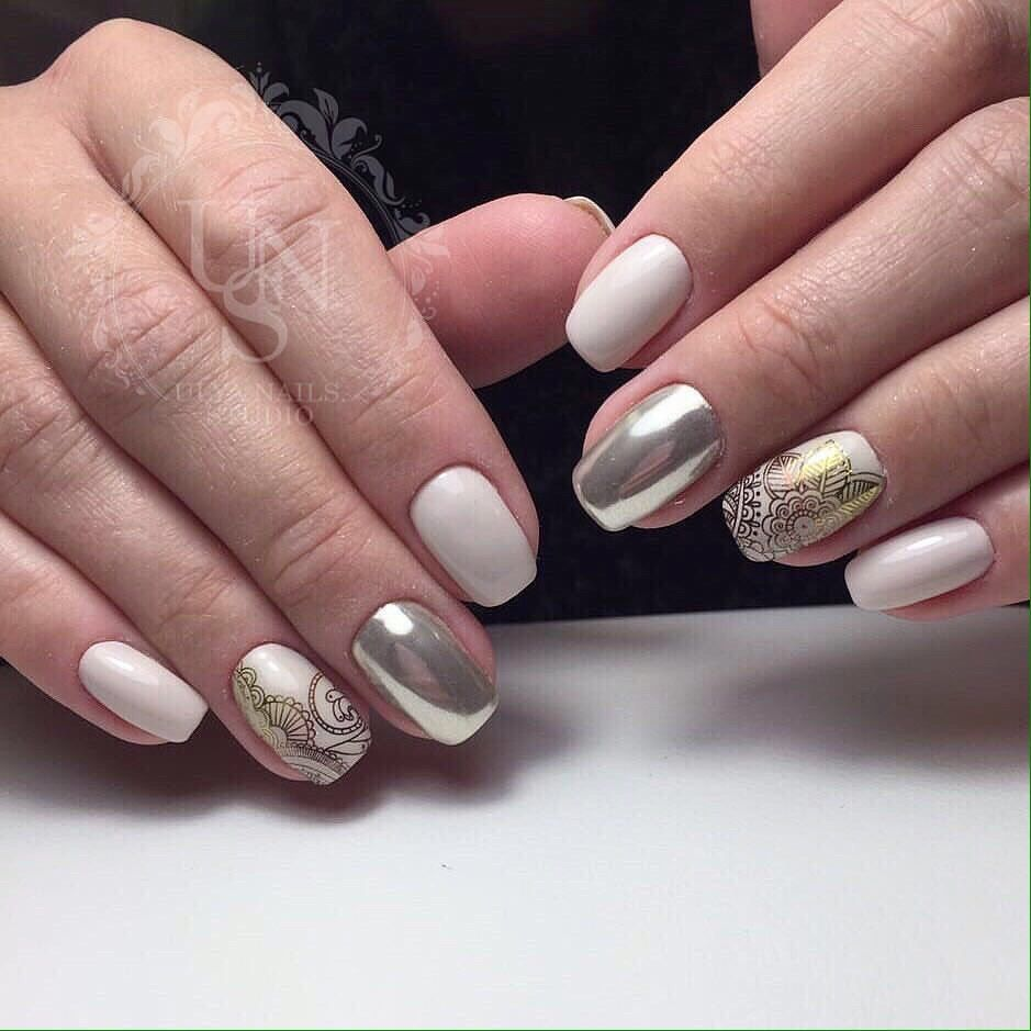 Beautiful summer manicure: the best ideas 22