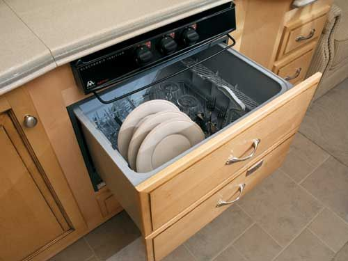 Integrated Fisher And Paykel Dishdrawer