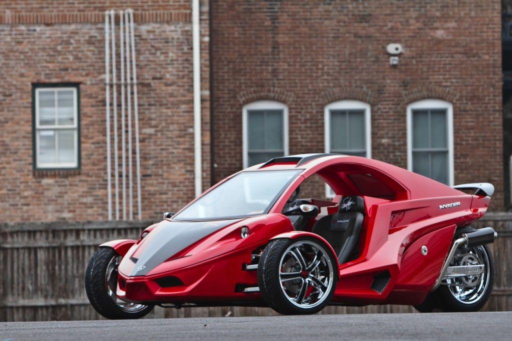 Go Kart Racing Houston >> Tanom Invader TR-3 Red Rocker, Reverse Trike, three wheel ...