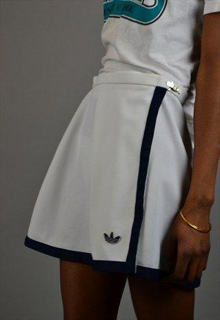 Vintage 90 S Adidas Tennis Skirt The East End Thrift Store Tennis Skirt Outfit Tennis Outfit Women Tennis Fashion